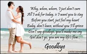 goodbye poems for lovers com