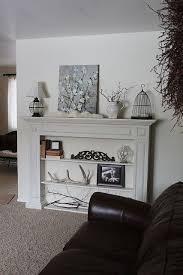 no fireplace no mantel nowhere to