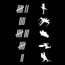 Amazon Com Rad Dezigns Keeping Count Roadkill Animals Funny Car Window Wall Laptop Decal Sticker White 8in X 4 1in Automotive