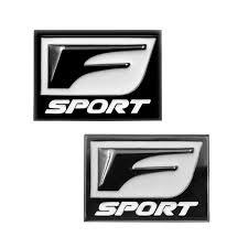 Car Truck Decals Stickers Car Metal 3d F Sport Emblem Decal Auto Trunk Body Sticker For Lexus Is300 Es250 Dreamgarden Olsztyn Pl