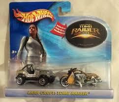 Hot Wheels Lara Croft Tomb Raider 2 Car Set W Jeep Exclusive Scorchin Scooter Contemporary Manufacture Monalisa Tiles Com