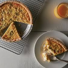 Sweet Corn and Crab Quiche Recipe from ...