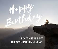 happy birthday brother in law wishes
