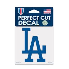 Wincraft Los Angeles Dodgers 4x4 Perfect Cut Car Auto Decal Sticker Walmart Com Walmart Com