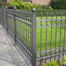 China Wrought Iron Ornamental Fences China Wrought Iron Ornamental Fences Manufacturers And Suppliers On Alibaba Com