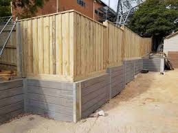 Concrete Sleeper Retaining Wall Company Contractors Installers Builders Melbourne Tuff Stuff Retaining Walls