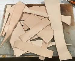 tooling leather offcuts remnants