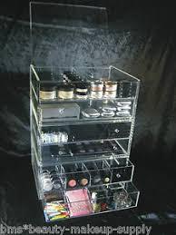 acrylic makeup organizer drawer