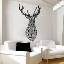 Wall Decals Deer Decal Vinyl Sticker Window Baby Children Kids Nursery Bedroom Home Decor Interior Design Art Murals Deer Decal Window Baby Animal Wall Decals