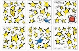 Amazon Com Mudpuppy Andy Warhol So Many Stars Wall Decals Mudpuppy Warhol Andy Toys Games