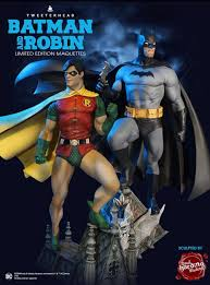 Pre-Orders Open For The DC Super Powers Batman and Robin Statues ...