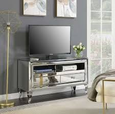 tv stand with pull out shelf