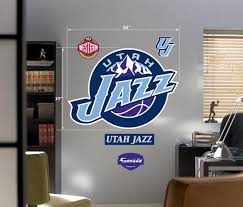 New Utah Jazz Fathead Wall Decal 52 X37 25290124