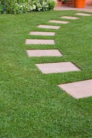 stepping stone pathways large slabs of