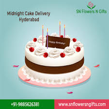 midnight cake delivery in hyderabad
