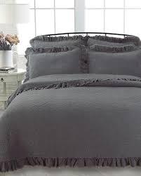 nina campbell stonewashed ruffle quilt