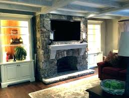 over the fireplace tv mount over the