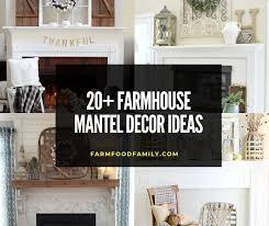 gorgeous farmhouse mantel decor ideas