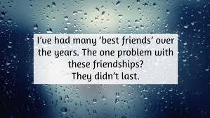 sad friendship quote quotereel
