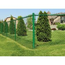 5 Ft H X 50 Ft L 9 Gauge Vinyl Coated Steel Chain Link Fence Fabric In The Chain Link Fence Fabric Department At Lowes Com
