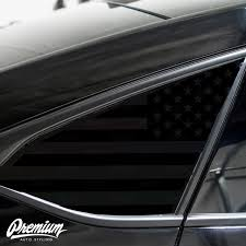 American Flag Quarter Window Decal Set 2018 2019 Honda Accord Premium Auto Styling