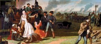 Image result for Civil war raids on farms