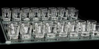 shot glass chess set your new