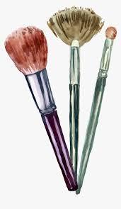 transpa makeup brush clipart