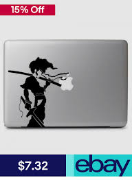 Afro Samurai Vinyl Decal Sticker For Macbook Laptop Car Window Suv Wall Room Art Vinyl Decal Stickers Afro Samurai Vinyl Decals