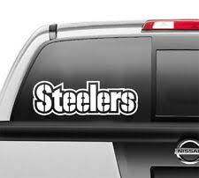 Steelers Window Decal Products For Sale Ebay