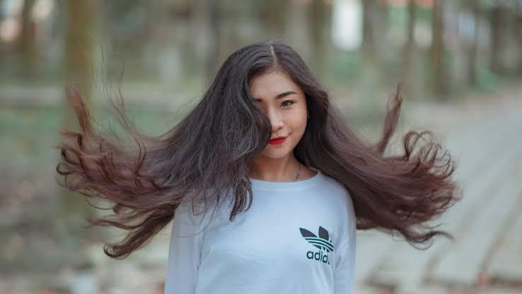 Image result for beautiful hair girl pic,nari