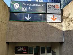 cmg sports club one défense coupole