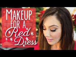 makeup for a red dress makeup geek