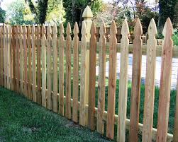 Colonial Gothic Picket Fence 2 Baltimore By Mid Atlantic Deck And Fence