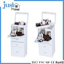 white vanity table set jewelry armoire