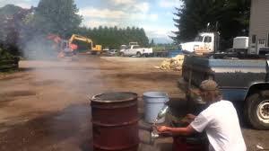 homemade garbage incinerator you