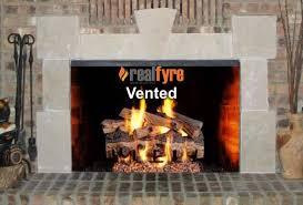gas fireplace flue damper energy saving