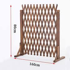Wooden Folding Fence Lightweight Solid Wood Fence Garden Decoration Vegetable Garden Small Fence Portable Wooden Fence Yard Fence Pet Outdoor Garden Decoration Telescopic Fence Retractable Wooden Fen Amazon Co Uk Kitchen Home