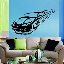 Shop Sport Car Retro Old Car Auto Vintage Stars Vinyl Decal Interior Design Kids Room Decor Sticker Decal 33 X 39 Black Overstock 15427993