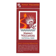 Sticker Hawaiʻi Volcanoes National Park Hawaii Pacific Parks Association
