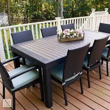 rst brands deco 9 piece patio dining