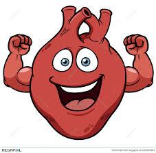 Strong Heart Cartoon Illustration 32226984 - Megapixl