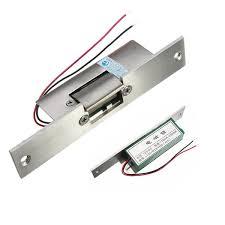 door electric strike lock fail safe no