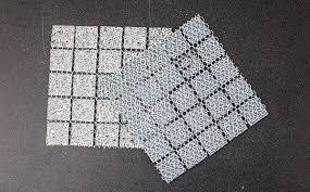 vs mesh mounted glass mosaic tile