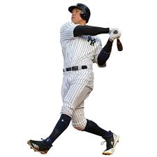 New York Yankees Mlb X Large Wall Decal Decor For Home Car Laptop Sports