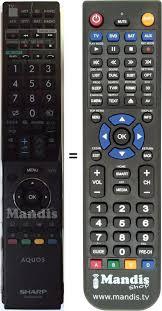 remote control for SHARP GA 903 WJSA ...