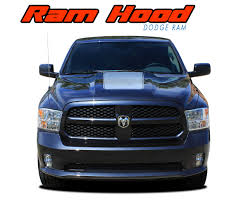 Ram Hood Dodge Ram Hood Stripes Dodge Ram Decals Ram Vinyl Graphics