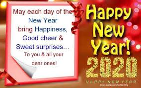 happy new year greeting cards ecard messages for her him