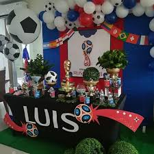World Cup Decoration Con Imagenes Cumpleanos Abuela