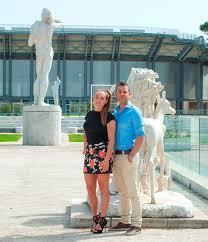 Dorothea Wierer con il marito Stefano... - Rivista SciFondo